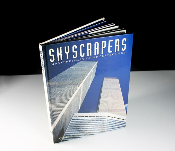 Hardcover Book, Skyscrapers, Charles Sheppard, First Edition, Reference, Buildings, Non-Fiction, Illustrated