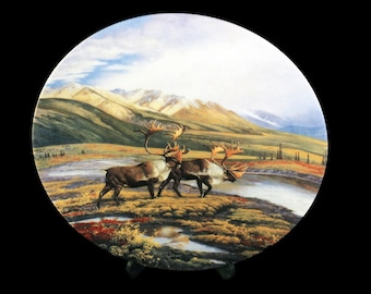Collectible Plate, W S George China, Alaska: The Last Frontier, Down The Trail, Limited Edition, Decorative Plate, Wall Decor, New In Box