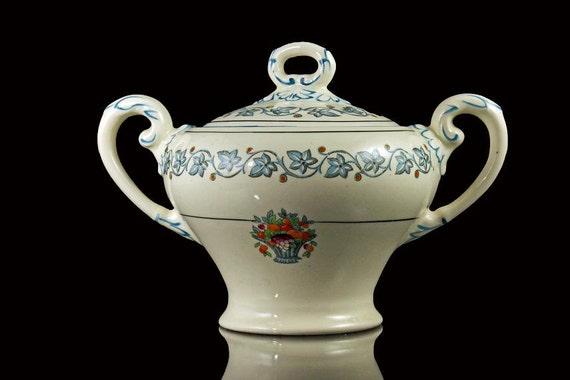 Sugar Bowl, Myott Staffordshire, Elegance