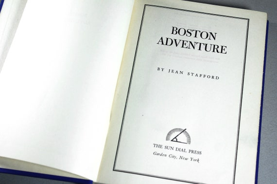 1946 Hardcover Book, Boston Adventure, Jean Stafford, Literature, Fiction, Novel