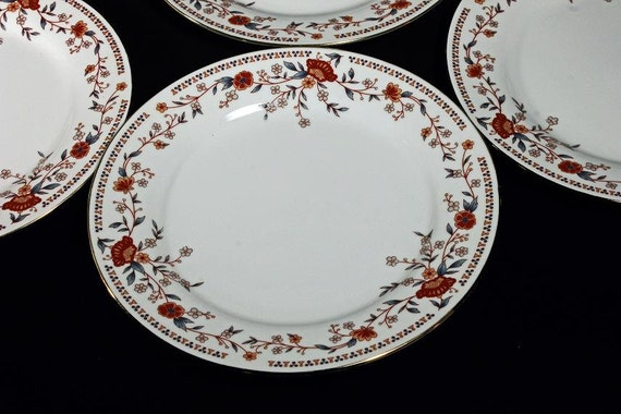 Salad Plates China Garden Imperial  Set of 4