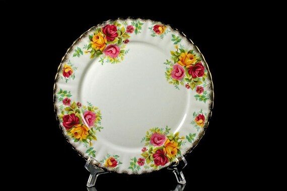 Salad/Dessert Plate Royal Staffordshire Bone China Bouquet