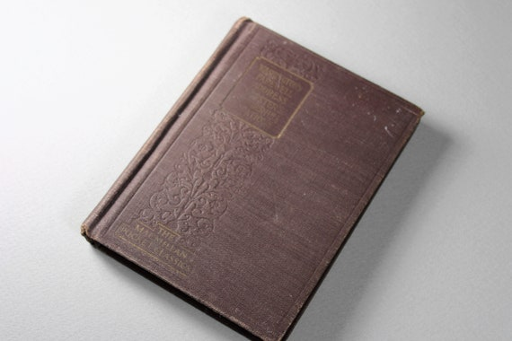 1924 Hardcover Antiquarian Book, Washington's Farewell Address, Macmillan Pocket Classics, Non-Fiction, History, Illustrated