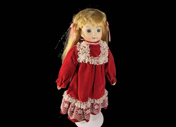 Collectible Porcelain Doll, Art Doll, Display Doll