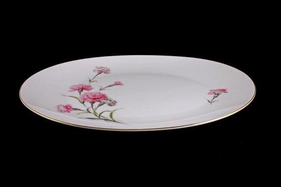 Platter Royal Court China Carnation Pattern