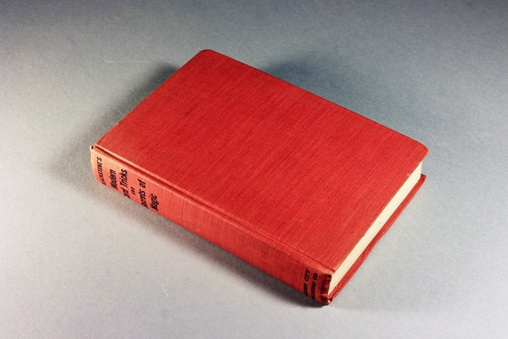 1941 Hardcover Book, Blackstone's Modern Card Tricks and Secrets of Magic, Reference Book, How To Book, Illustrated, Instructional Book