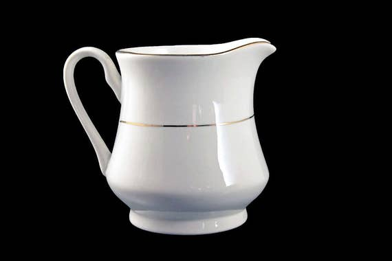 Creamer, Potter & Smith, White and Gold, Fine China