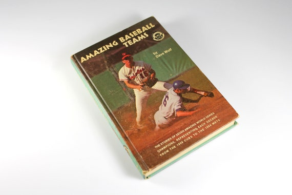 Hardcover Books, Amazing Baseball Teams, Dave Wolf, Non Fiction, Team Sports, Young Adult, Photos