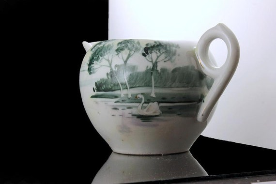 Small Pitcher, Creamer,  Hand Painted, Nippon