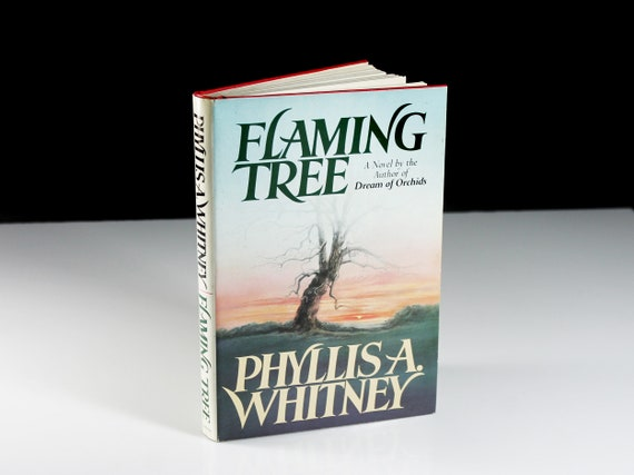 Hardcover Book, Flaming Tree, Phyllis A. Whitney, Mystery, Novel, Fiction, Literature, Suspense, Romance