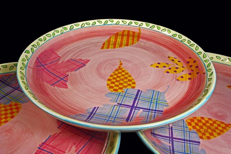 Dinner Plates Gourmet Gallery China by Lotus Int'l Set of image 0