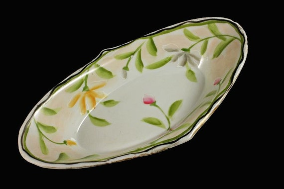 Oval Bowl, Candy Dish, Nut Bowl, Japan