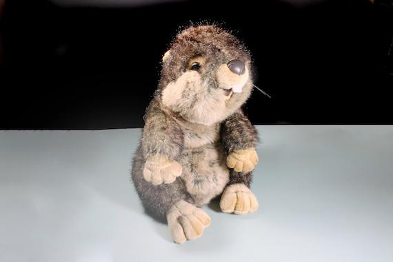 Large Beaver Stuffed Animal, Costco, Soft Fur, Wildlife, Nursery Decor, 20 Inch