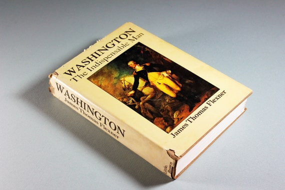 1974 Hardcover Book, Washington, James Flexner, Biography, History, Educational, Non-Fiction, Illustrated