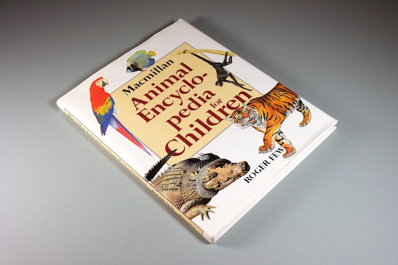 Hardcover Children's Book, Animal Encyclopedia for Children, Non-Fiction Book, Reference Book, Teaching Tool, Animal Book, Illustrated