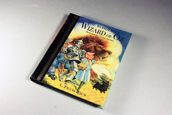 Children's Hardcover Book, The Wizard of Oz, L. Frank Baum, Fiction, Novel, Illustrated, Kid's Story, Storybook, Classic