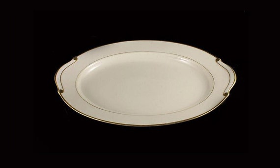 Platter, Viletta China, Radiance Pattern