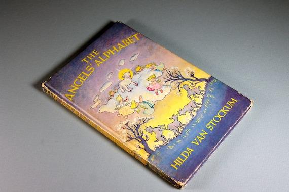 Children's Hardcover Book, The Angels' Alphabet, Hilda Van Stockum, First Edition, Christian Teaching, Fiction, Illustrated