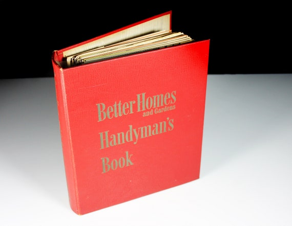 Better Homes and Gardens Handyman, Hard Cover Binder Book, First Edition, Reference, How To, Fix and Repair