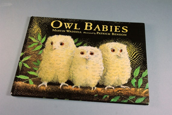 Children's Hardcover Book, Owl Babies, Martin Waddell, First Edition, Illustrated, Story Book, Fiction, Picture Book, Bedtime Story