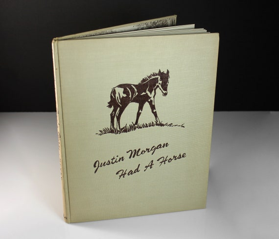 Children's Hardcover Book, Justin Morgan Had A Horse, Marguerite Henry, Non-Fiction, Illustrated, True Horse Story