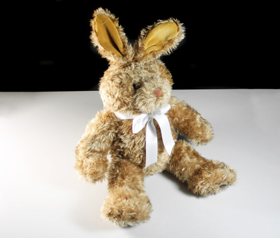Bunny Rabbit Stuffed Animal, Build A Bear Workshop, 19 Inch, Plush, Collectible, Nursey Decor, Home Decor, Retired