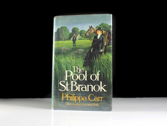 1987 Hardcover Book, The Pool of St. Branok, Philippa Carr, First Edition, Historical Fiction, Literature, Suspense, Victorian Romance