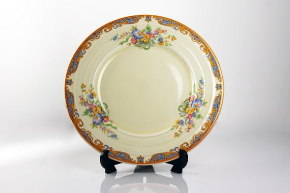 Bread and Butter Plate, Grindley, Ludlow, Floral Pattern, Fine China, Discontinued