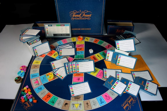 Trivial Pursuit Game, Master Game Genus Edition, Parker Brothers, Board Game, Trivia Game