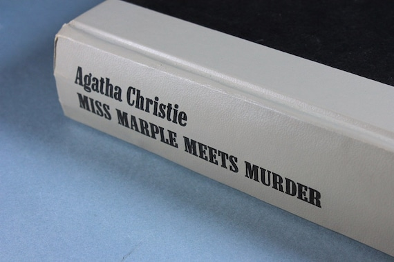 1980 Hardcover Book, Miss Marble Meets Murder, Agatha Christie, Mystery, Novel, Fiction, Literature, Classic, Collectible, Short Stories