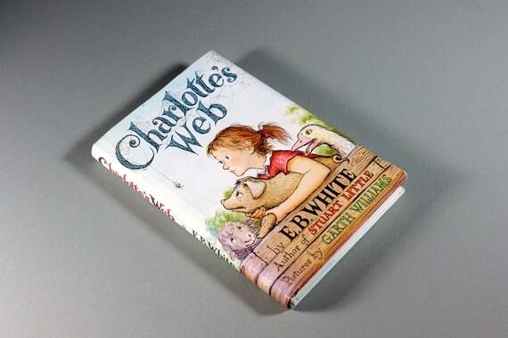1980 Children's Hardcover Book, Charlotte's Web, E. B. White, Fiction, Collectible, Animal Story,  Children's Classic