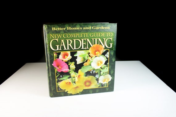 Gardening Guide Book, Better Homes and Gardens, Coffee Table Book, Non-Fiction, Illustrated
