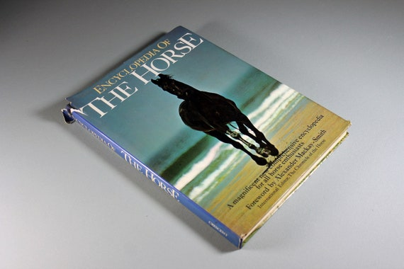 Hard Cover Book, Encyclopedia of the Horse, Horse Guide, Equestrian Book, Reference Book, Horse Enthusiasts, Illustrated