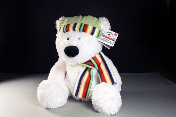 Russ, Bernard The Polar Bear, Avon, Teddy Bear, Stuffed Animal, Plushie, Brand New, Never Used, Collectible