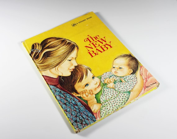 1980 Children's Big Golden Book, The New Baby, Ruth and Harold Shane, Fiction, Story Book, Hardcover, Illustrated, Collectible