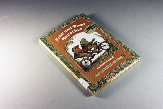 Children's Hardcover Book, Frog and Toad Together, Fiction, Novel, Illustrated, Storybook, Literature, Picture Book, Short Stories