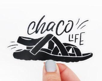 df54ad6f5042 Chaco Vinyl Sticker - Chaco Life - Hike - Go Outside
