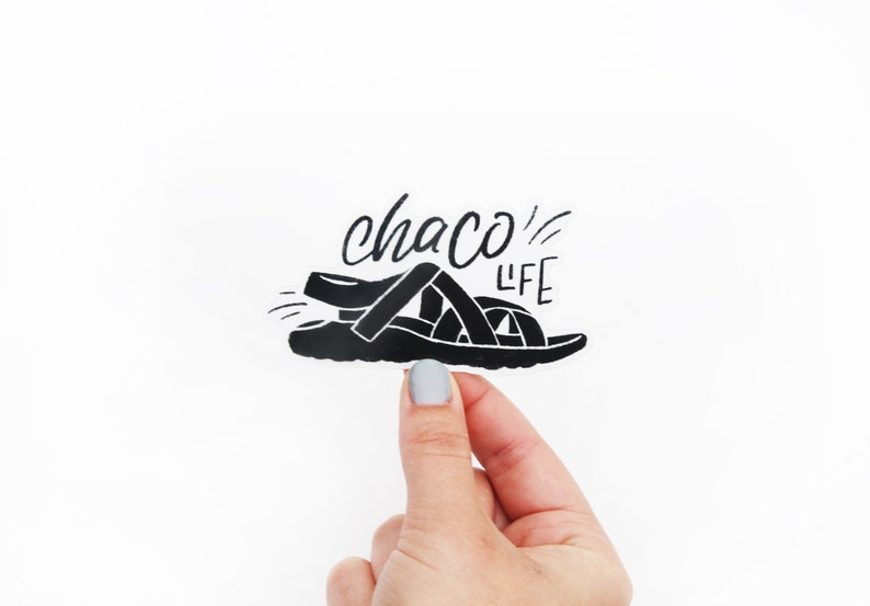 Chaco Life Vinyl Sticker