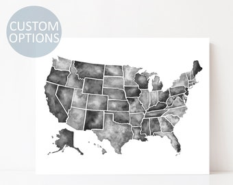 Us map | Etsy