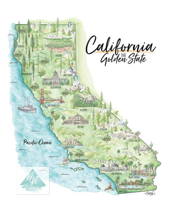 California Topographical Map, California Topography Map Art, Gift for Mom,  Gift for Friend Moving Away, California Wall Art, California Gift