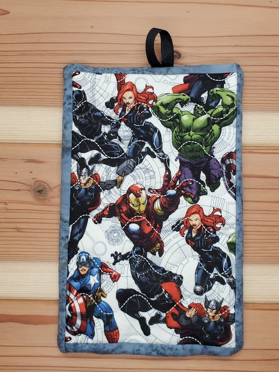 Panthers Quilted Pot Holder