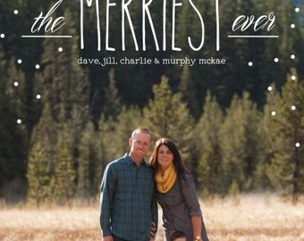 The Merriest Ever Christmas Card