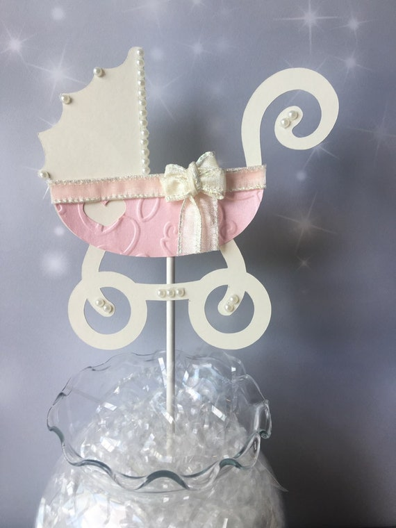 rose gold baby carriage centerpiece etsy rh etsy com Elegant Baby Shower Centerpieces Elegant Baby Shower Centerpieces