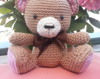 Teddy bear crochet amigurumi