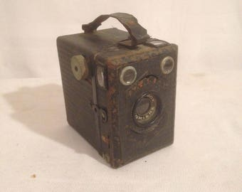 Old Vintage Metal light SCOUTBOX Photo Viewer