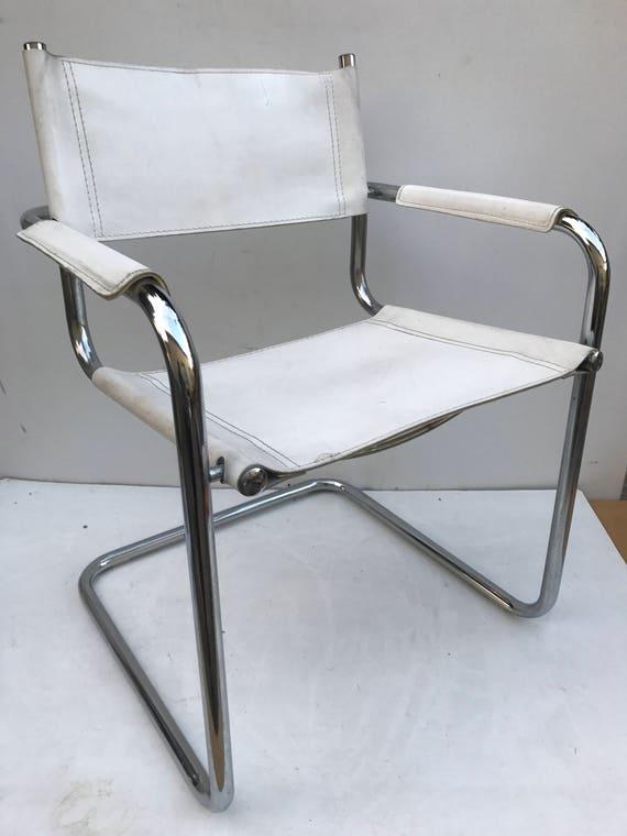 B34 SAMP BREUER Style Chair Matteo Grassi Vintage 70s White | Etsy