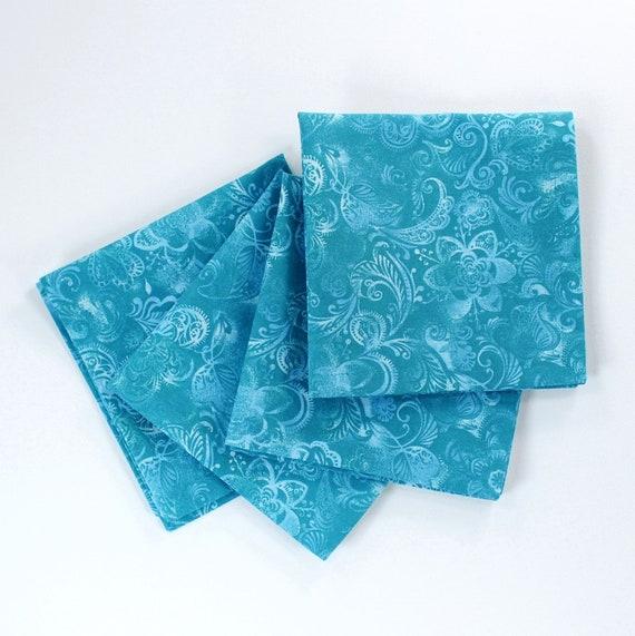 home decor silk floral arrangement floral decor tropical.htm turquoise napkins floral cloth napkin coastal decor etsy  floral cloth napkin coastal decor