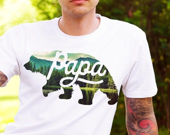 9cd1c09fb Papa Bear Shirt, Papa Bear, Fathers Day Shirt, Gifts For Dad, Gifts For  Him, New Dad Gift, Papa Bear Tee, Shirts With Sayings, Fathers Day