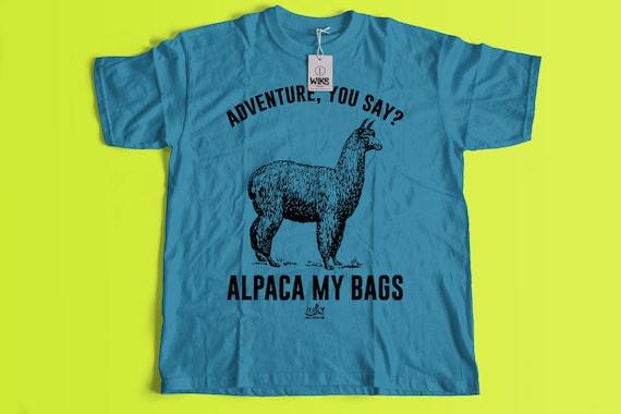 a5a24cf4767e Alpaka-t-meiner Taschen Unisex Hipster T-Shirt lustig   Etsy