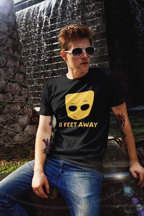 0 Fuß Weg LGBT-t-Shirt lustige Grindr Tee Geschenke für | Etsy